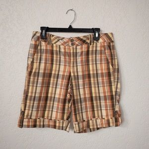 Faded Glory Plaid Shorts